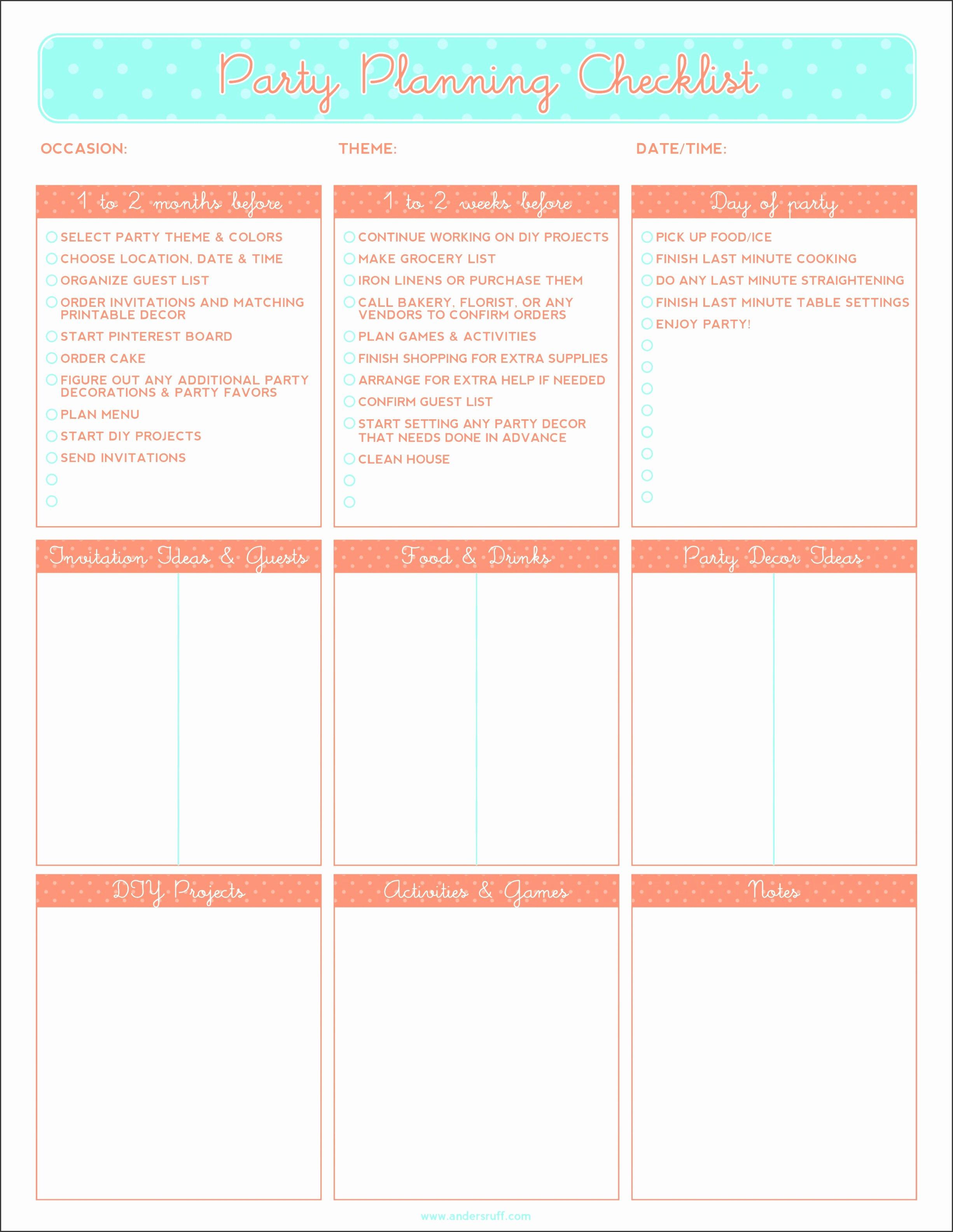Baby Shower Planner Template Best Of 10 Baby Shower Planner Outline Sampletemplatess