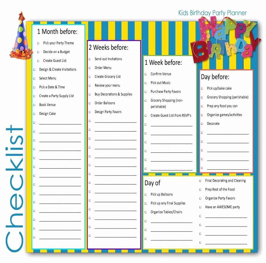 Baby Shower Planner Template Elegant Baby Shower Planning Checklist Printable Martha Stewart