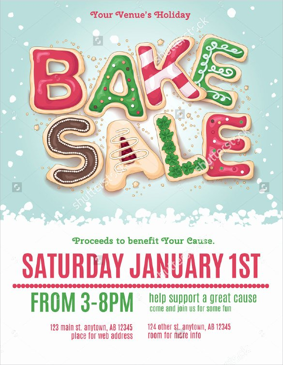 Bake Sale Flyer Template Beautiful 24 Bake Sale Flyer Templates Indesign Apple Pages