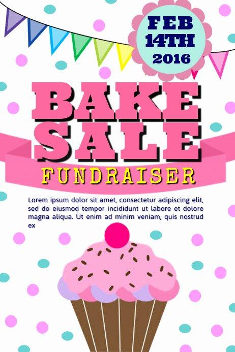 Bake Sale Flyer Template Beautiful Copy Of Bake Sale