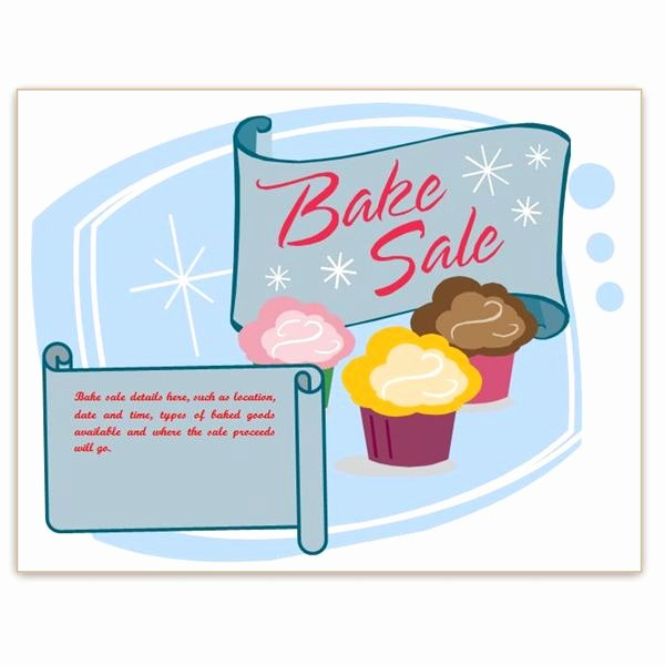 Bake Sale Flyer Template Best Of Find Free Flyer Templates for Word 10 Excellent Options