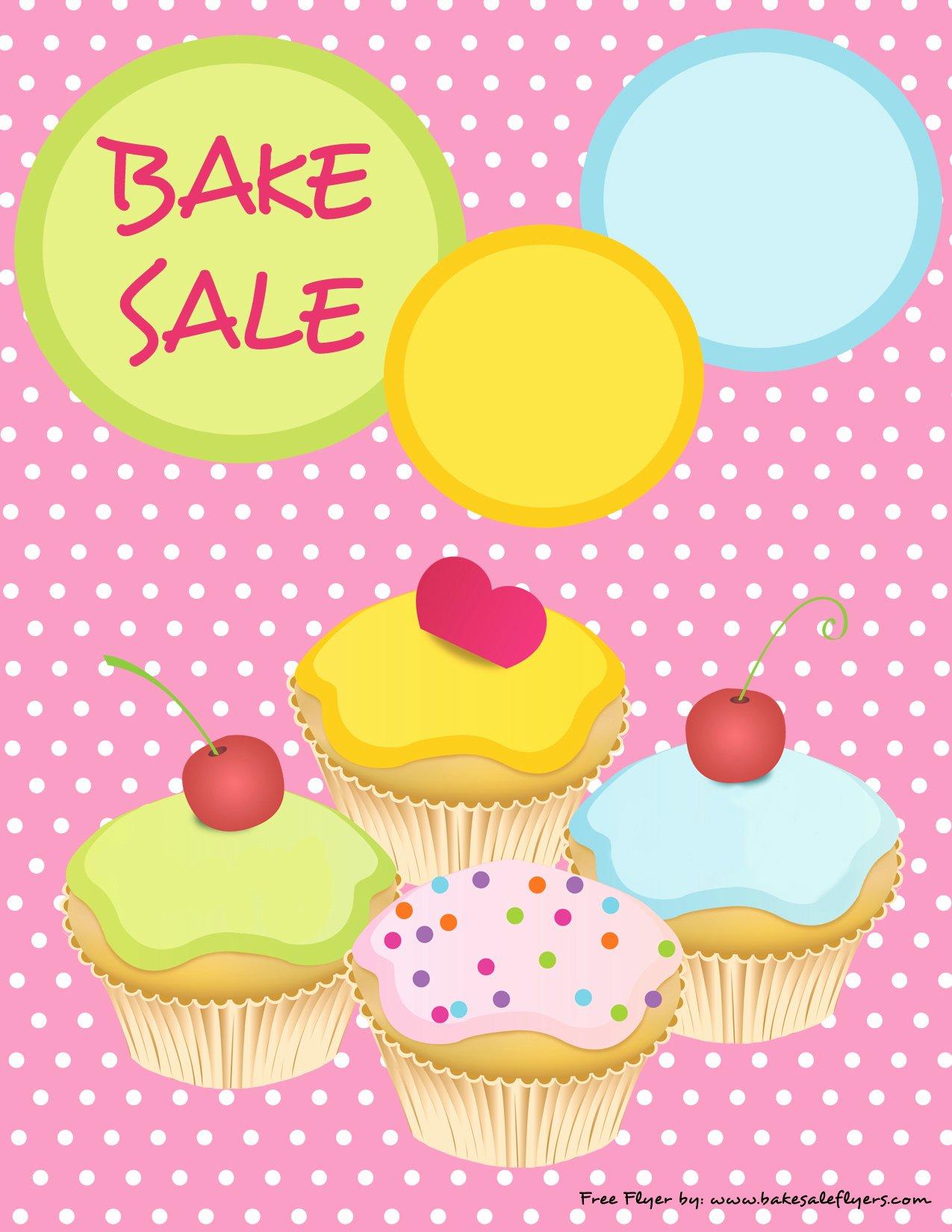 Bake Sale Flyer Template Elegant Bake Sale Flyers – Free Flyer Designs