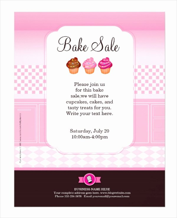 Bake Sale Flyer Template Fresh 29 Professional Flyer Templates Psd Ai Indesign