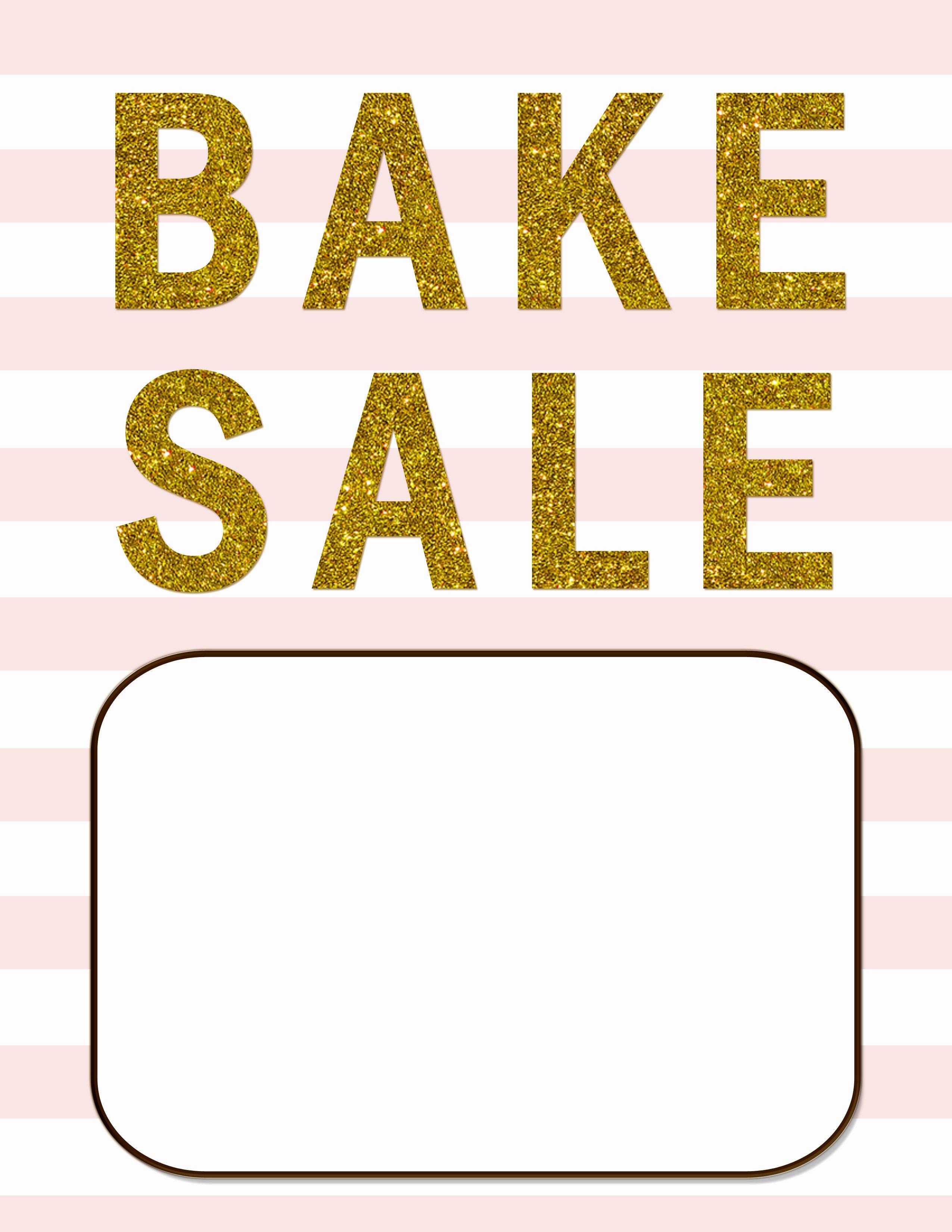Bake Sale Flyer Template Inspirational Bake Sale Flyers – Free Flyer Designs