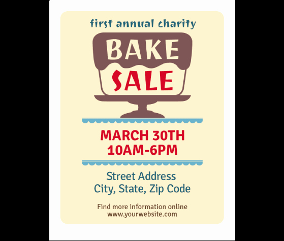 Bake Sale Flyer Template Inspirational Download This Bake Sale Flyer Template and Other Free
