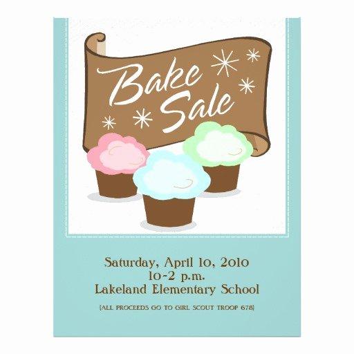 Bake Sale Flyer Template Lovely Bake Sale Flyers