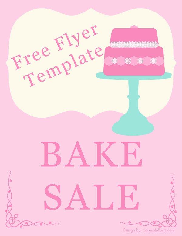 Bake Sale Flyer Template Word Best Of Bake Sale Flyers – Free Flyer Designs