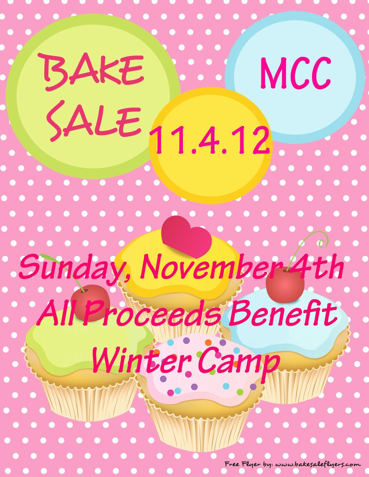 Bake Sale Flyer Template Word Luxury Bake Sale Fundraiser