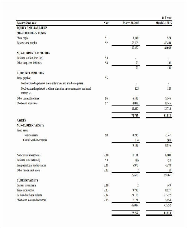 Balance Sheet Template Pdf Best Of 14 Balance Sheet Templates In Pdf