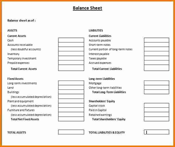 Balance Sheet Template Pdf Best Of Balance Sheet Example Pdf Driverlayer Search Engine
