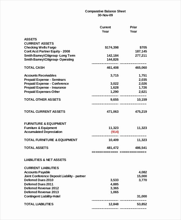 Balance Sheet Template Pdf Elegant 22 Balance Sheet Examples Download In Word Pdf