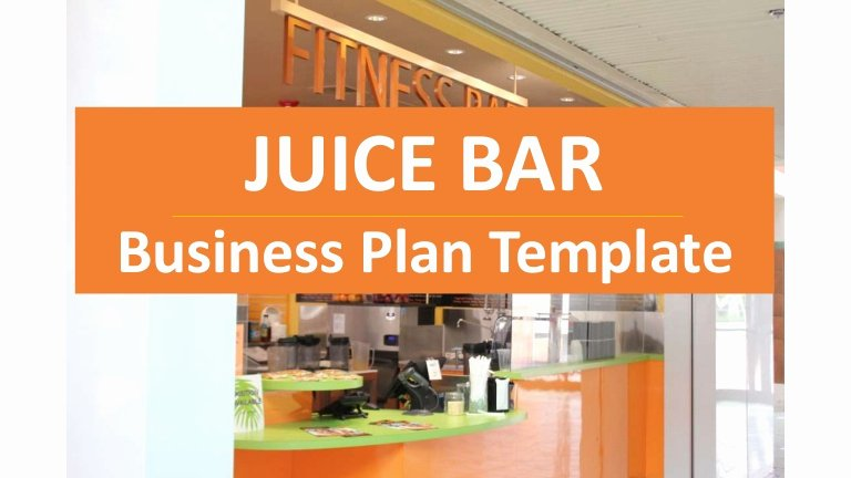 Bar Business Plan Template Awesome Juice Bar Business Plan Cold Pressed Juices and Others