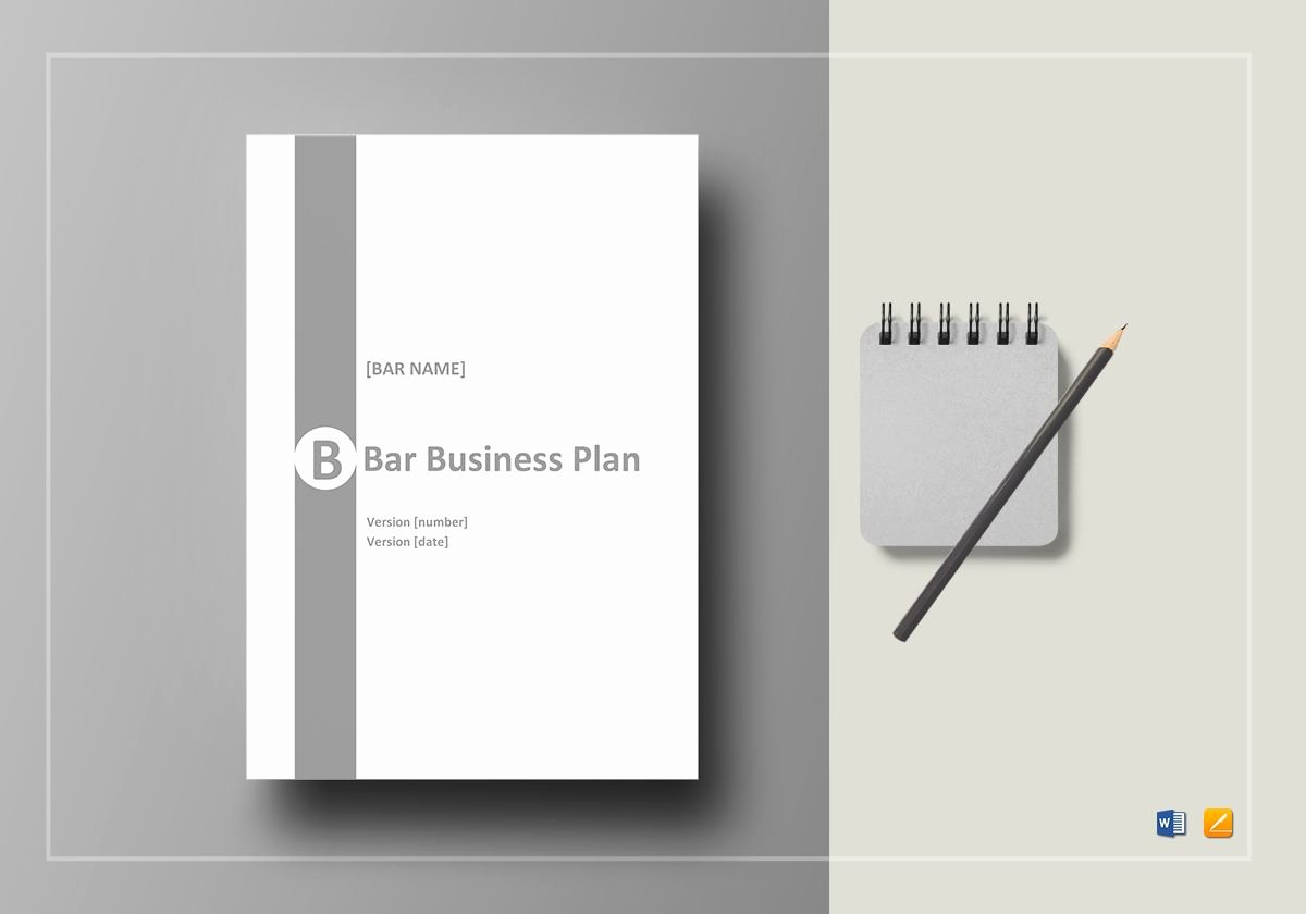 Bar Business Plan Template Beautiful Bar Business Plan Template In Word Google Docs Apple Pages