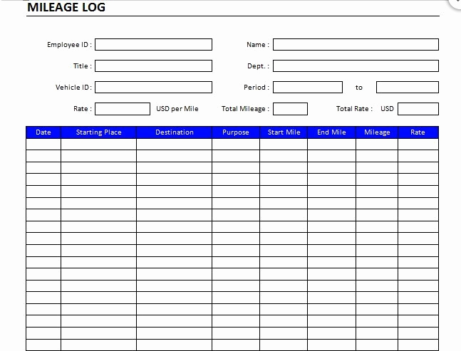 Basic Expense Report Template Elegant the 7 Best Expense Report Templates for Microsoft Excel