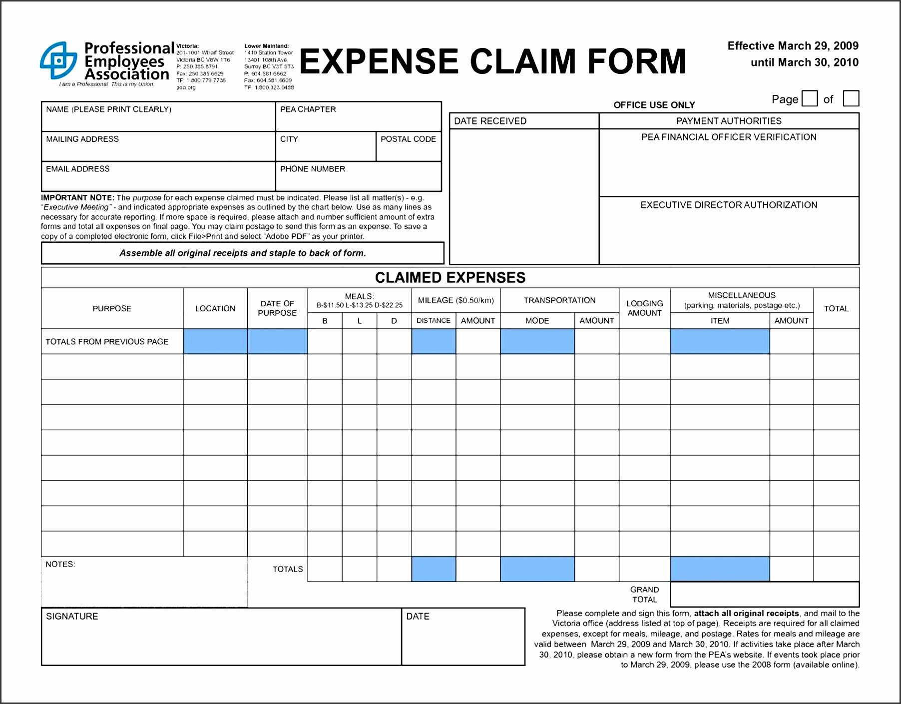 Basic Expense Report Template New 5 Simple Expense Report Template Sampletemplatess