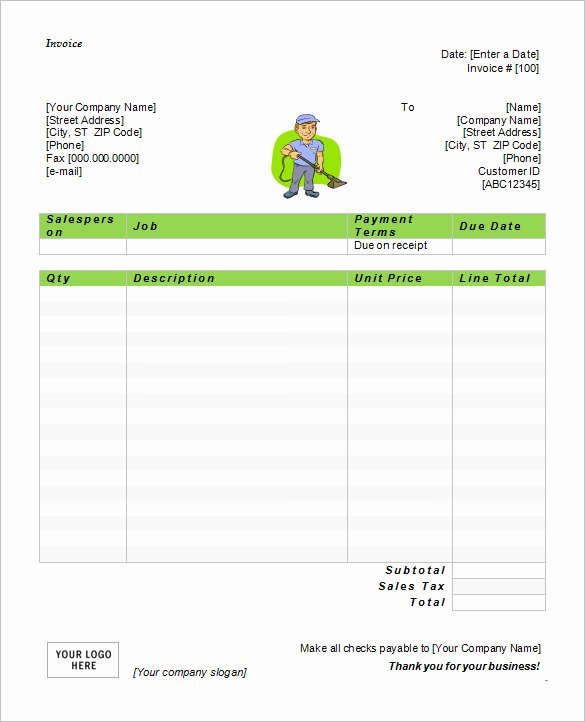 Basic Invoice Template Word Best Of 50 Generic Invoice Template to Ease the Invoice Ideas