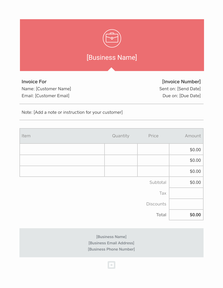 Basic Invoice Template Word New Invoice Template Generate Custom Invoices