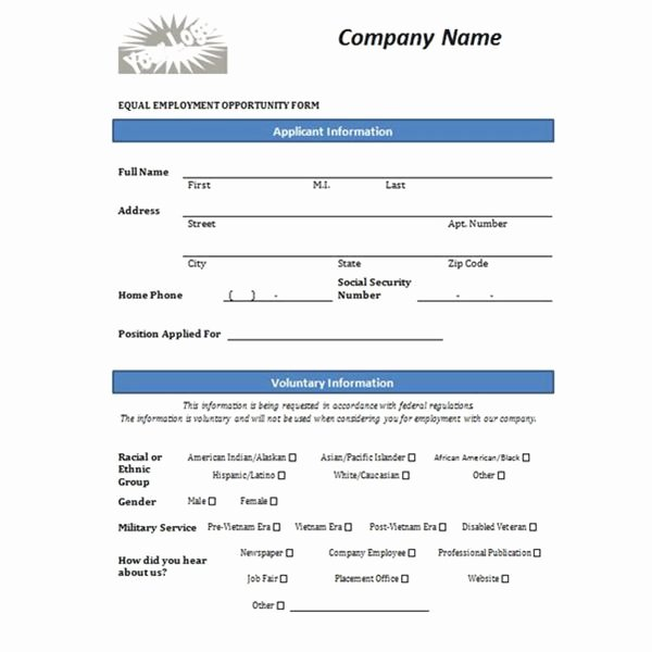 Basic Job Application Templates Lovely Free Printable Job Application form Template form Generic