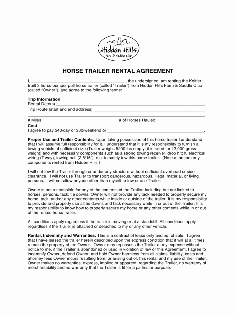 30 basic editable rental agreement form templates