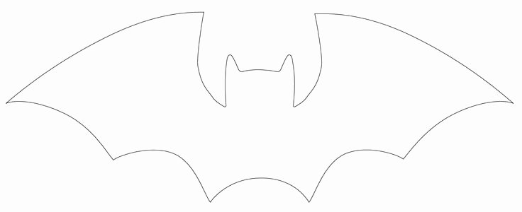 Bat Template Martha Stewart Elegant 25 Best Ideas About Bat Template On Pinterest