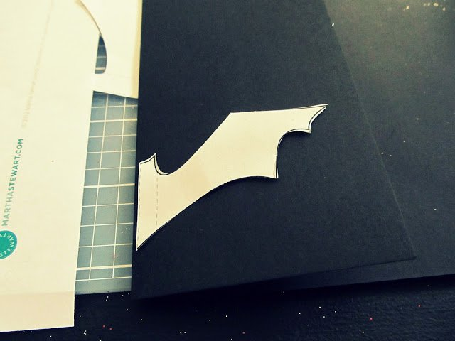 Bat Template Martha Stewart Elegant Wobisobi Flying Bats Diy