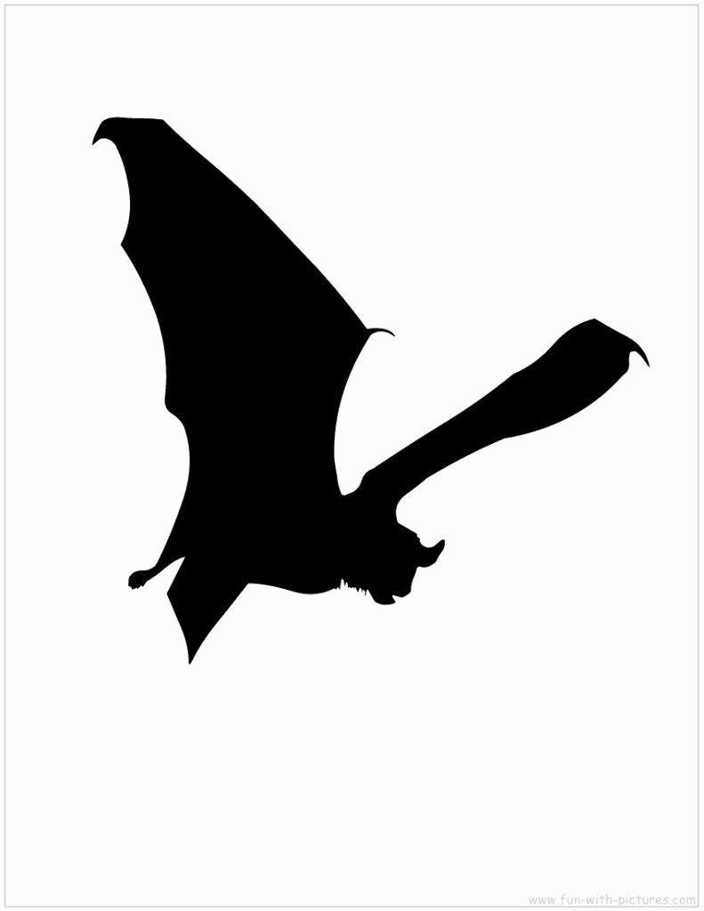 Bat Template Martha Stewart Fresh Halloween Silhouette Templates