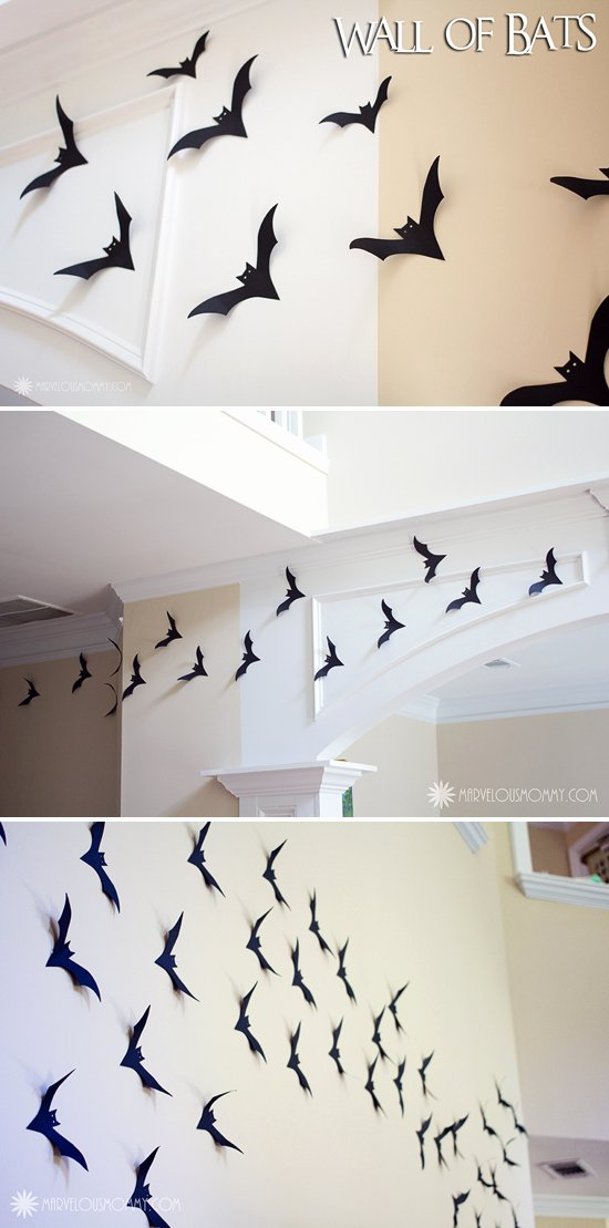 Bat Template Martha Stewart Inspirational Easy Diy Halloween Decor