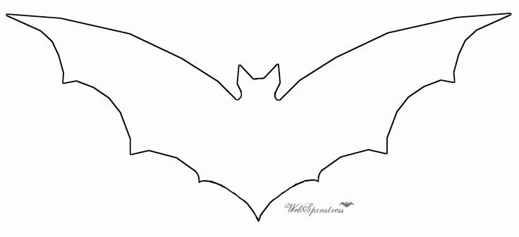 Bat Template Martha Stewart Inspirational Martha Stewart Halloween Bats Template
