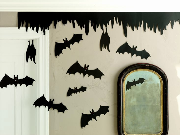 Bat Template Martha Stewart New Martha Stewart Crafts Halloween Silhouettes Bats