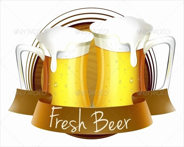 Beer Label Template Word Awesome 29 Beer Label Templates – Free Sample Example format