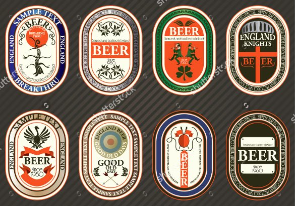 Beer Label Template Word Awesome Beer Label Template