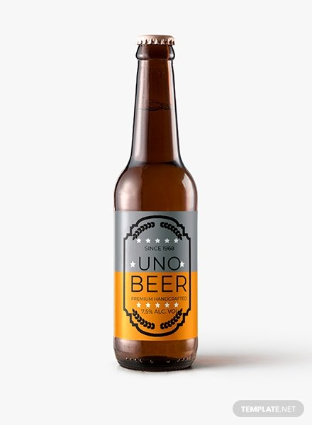 Beer Label Template Word Best Of Free Sample Beer Label Template In Psd Ms Word Publisher