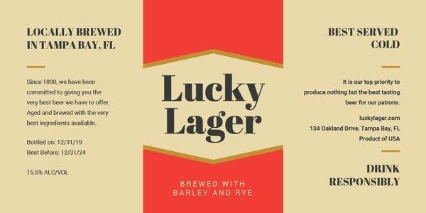 Beer Label Template Word Lovely 12 Vintage Bottle Label Templates Free Printable Psd