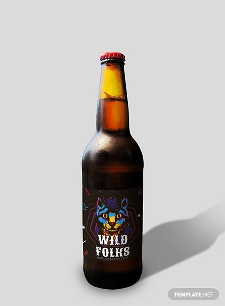 Beer Label Template Word New Free Sample Beer Label Template In Psd Ms Word Publisher