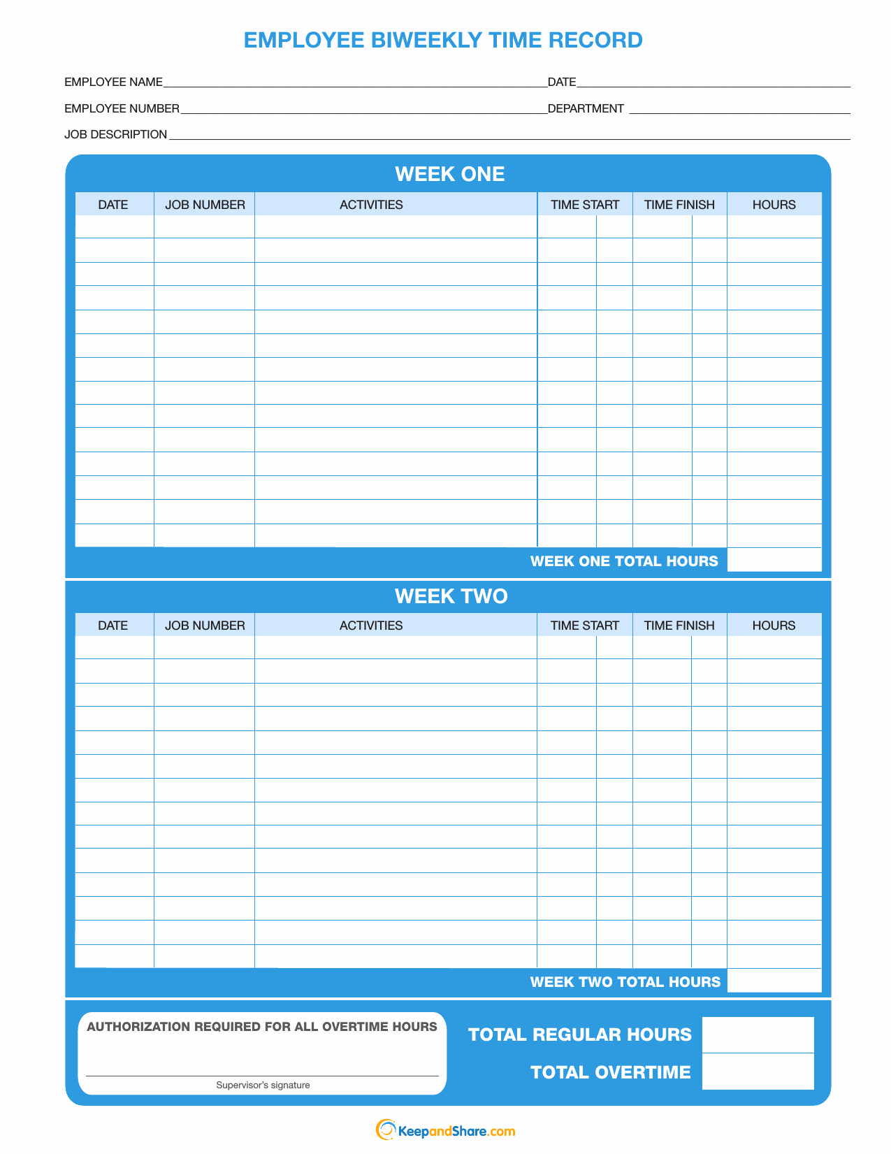 Bi Weekly Timesheet Template Elegant Download Biweekly Timesheet Template Excel Pdf
