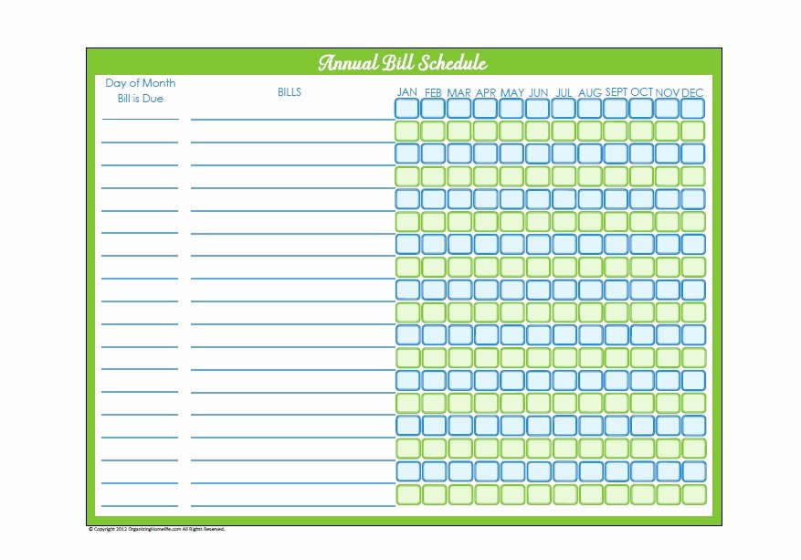 Bill Pay Calendar Template Beautiful 32 Free Bill Pay Checklists & Bill Calendars Pdf Word