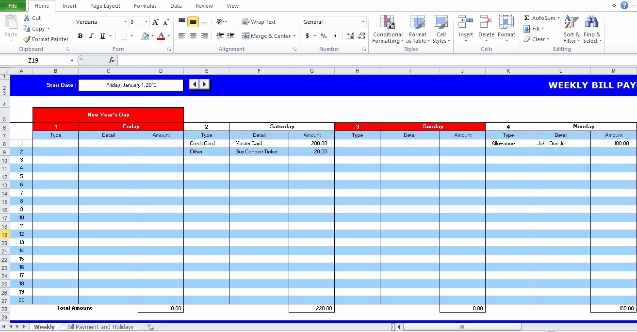 Bill Pay Schedule Template Unique 5 Bill Payment Schedule Template Pdf & Word Excel Tmp