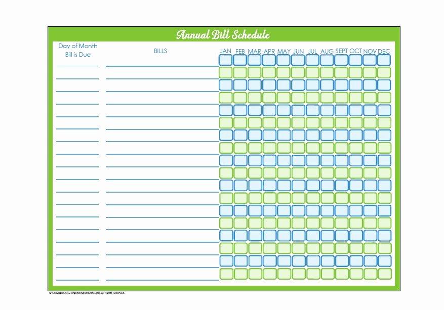 Bill Paying Calendar Template Best Of 32 Free Bill Pay Checklists & Bill Calendars Pdf Word