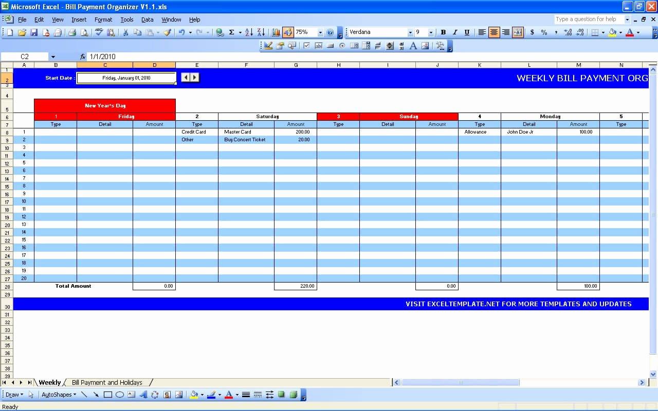 Bill Paying Calendar Template Inspirational Bill Payment Calendar