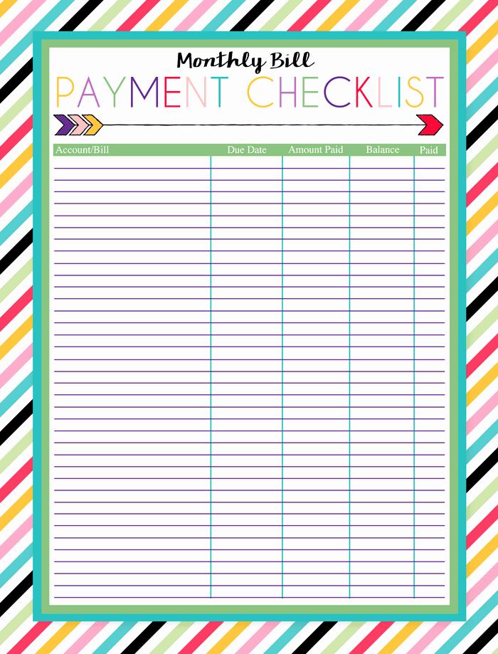 Bill Payment Calendar Template Lovely Free Printable Bill Calendar Templates