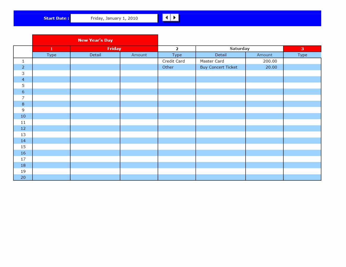Bill Payment Schedule Template Elegant Bill Payment Calendar Excel Templates