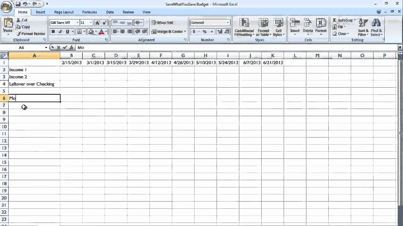 Bill Payment Schedule Template Elegant Easy Bud Bill Payment Schedule for Real People