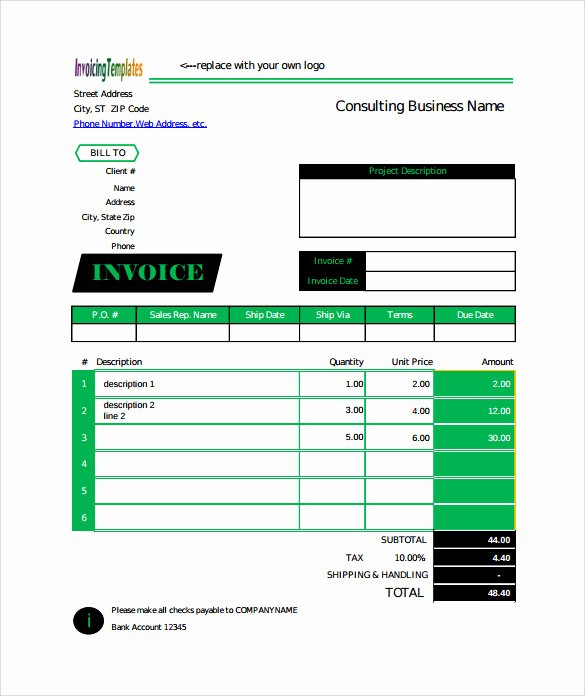 Billing Invoice Template Word Unique Free 13 Billing Invoice Samples In Google Docs