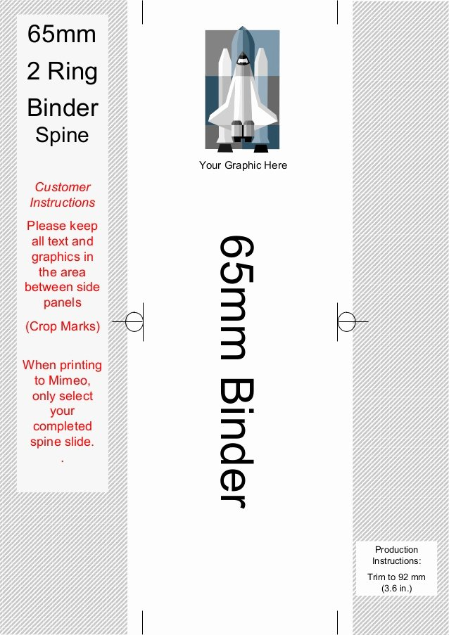 Binder Spine Template 2 Inch Beautiful Spine Templates for 2 Ring Binders On Mimeo