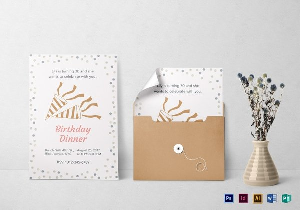 Birthday Invitation Template Word Unique 49 Birthday Invitation Templates Psd Ai Word