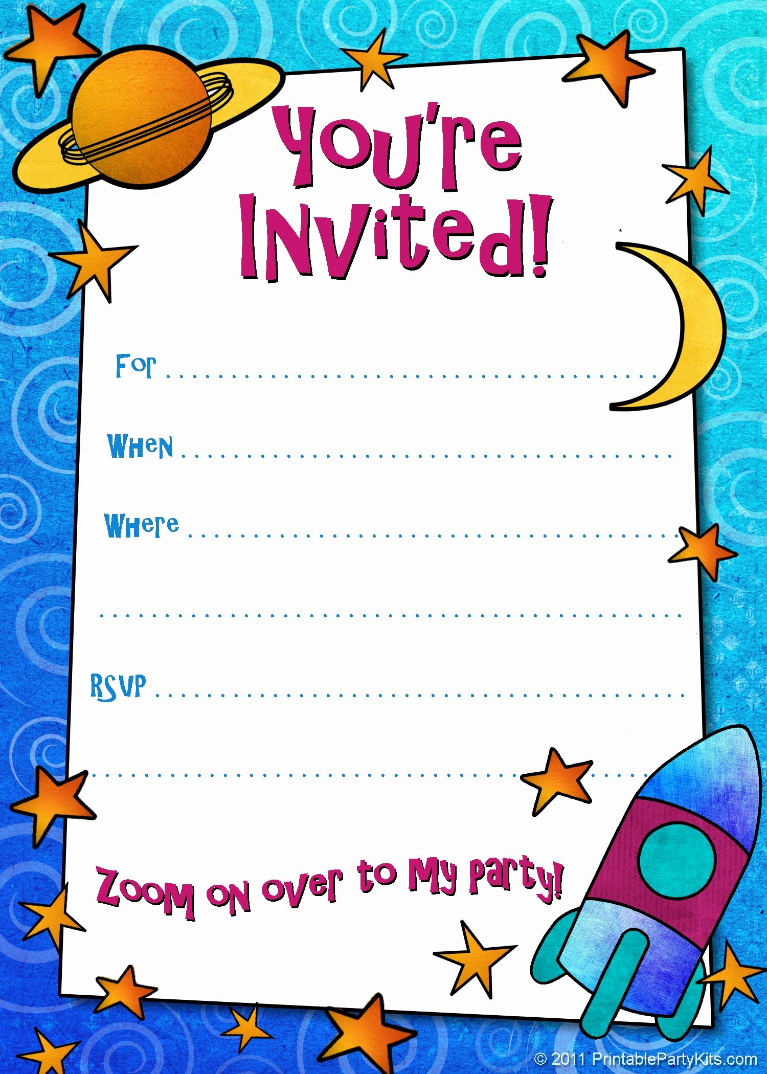 Birthday Invitation Template Word Unique Free Printable Boys Birthday Party Invitations
