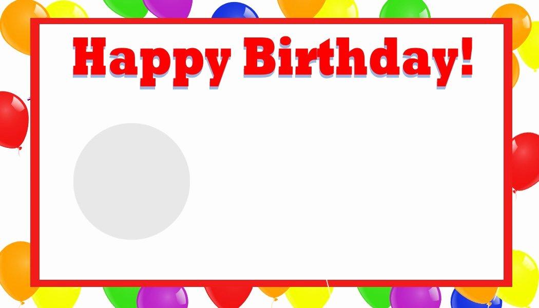 Birthday Invitation Templates Word Beautiful Happy Birthday Template Word
