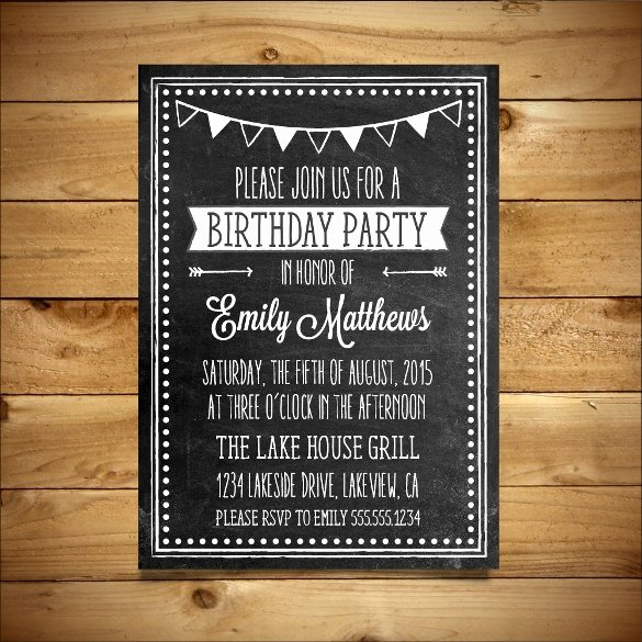 Birthday Invitation Templates Word Best Of 18 Ms Word format Birthday Templates Free Download