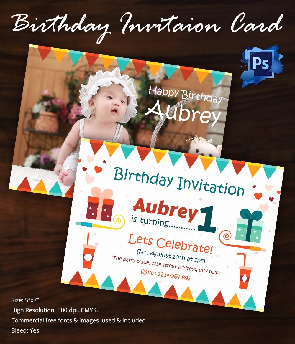 Birthday Invitation Templates Word New Birthday Invitation Template 32 Free Word Pdf Psd Ai