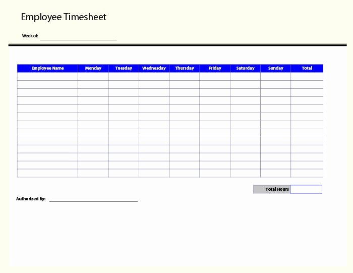 Biweekly Timesheet Template Free Elegant 60 Sample Timesheet Templates Pdf Doc Excel